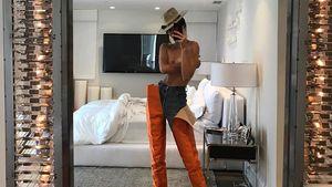 Kendall Jenner in einem eigenwilligen Outfit