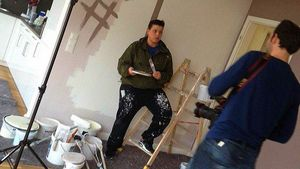 Kerstin Ott als Malerin