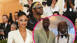 Grimassen-Pic: Kanye & Lil Wayne feiern 2 Chainz Hochzeit!