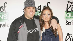 Kevin James und Leah Remini 2007