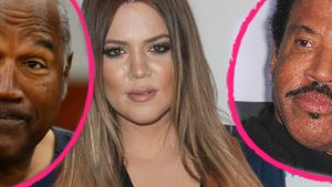 Khloe Kardashian, O.J. Simpson und Lionel Richie