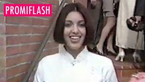 Kim als Teenie