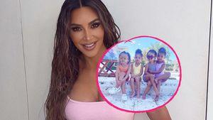 Stormi wird drei: Kim Kardashian gratuliert mit Cousinen-Pic