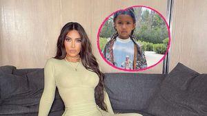 Kim Kardashian stolz: Hier posiert Sohn Saint wie ein Großer