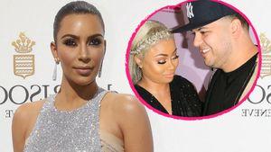 Kim Kardashian, Blac Chyna und Robert Kardashian