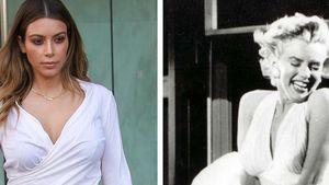 Skurril! Kim Kardashian wird mit Monroe verglichen