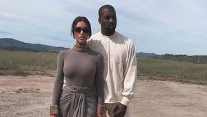 Kim K. und Kanye West reden im Urlaub nicht über Politik