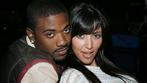 Ray J und Kim Kardashian