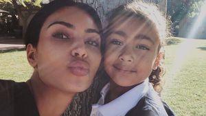 Photoshop-Wirbel: Mogelte Kim K. Tochter Nori (6) schlanker?