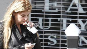 Ein Suchtproblem? Kirstie Alley und die Zigaretten