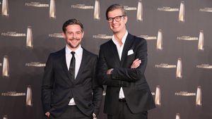 Klaas Heufer-Umlauf und Joachim Winterscheidt beim Deutschen Fernsehpreis 2011