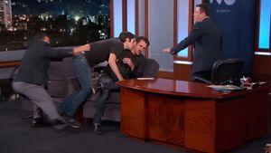 Jimmy Kimmel und Colin Farrell