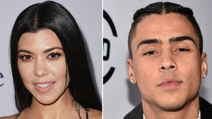 Kourtney Kardashian und Quincy Brown