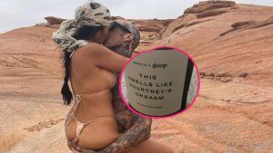 Skurril: Travis Barkers Kerze riecht nach Kourtneys Orgasmus
