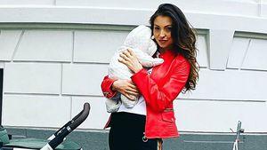 Wegen Virus: Kristina Yantsens Baby musste ins Krankenhaus