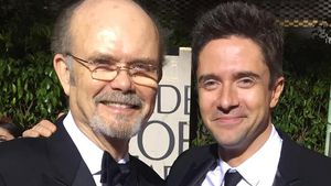 Kurtwood Smith und Topher Grace bei den Golden Globes 2017