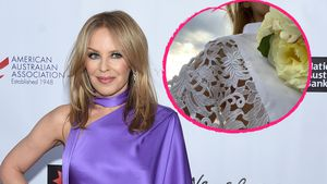Weißes Kleid: Hat Kylie Minogue etwa heimlich geheiratet?