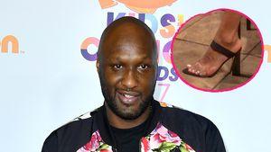 Khloes Ex Lamar Odom lutscht die Zehen seiner neuen Flamme!