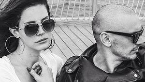 So lässig schmusen Lana Del Rey & James Franco
