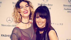 Larissa Kerner und Nena bei der Berliner Fashion Week 2016
