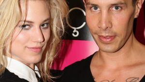 Schräge Modenschau: Larissa läuft für Florian Wess