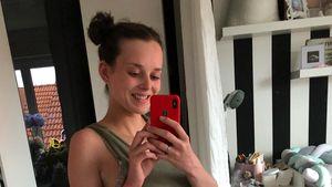Nur noch zwei Kilo plus: GNTM-Laura zeigt After-Baby-Body