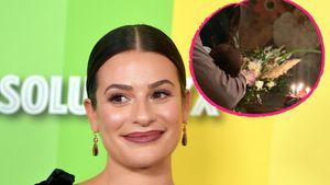 Nach Füßchen: Lea Michele gewährt weiteren Blick aufs Baby