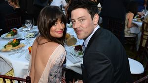 Lea Michele und Cory Monteith beim 11. Annual Chrysalis Butterfly Ball in L.A. im Jahr 2012