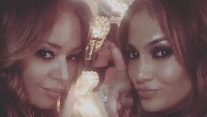 Leah Remini und Jennifer Lopez