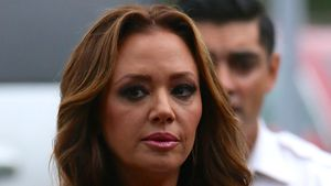 "Leah Remini zu Gast bei ""Extra"" in Los Angeles"