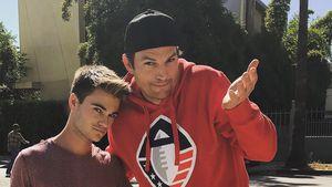 Ashton Kutcher fuhr Fan an & machte danach ein Sorry-Selfie!