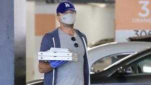 Herrlich normal: Leonardo DiCaprio holt Pizza beim Einkaufen