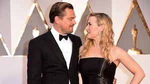 Leonardo DiCaprio und Kate Winslet bei der Verleihung der Oscars