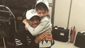 Formel-1-Star Lewis Hamilton macht kranken Jungen glücklich!