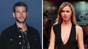 Eine Woche nach Scheidung von Miley: Liam knutscht mit Neuer