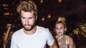 Liam Hemsworth und Miley Cyrus in New York