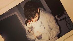 Liam Payne mit seinem neugeborenen Sohn