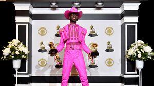 Grammy-Hingucker: Dieser Sänger erschien als Cowboy in Pink!