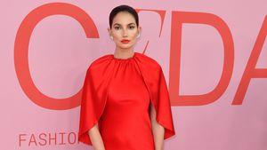 Im 5. Monat schwanger: Lily Aldridge rockt NY-Fashion Week