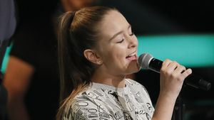 "Lina bei ""The Voice Kids"""