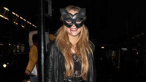 Lindsay Lohan im Halloween-Kostüm