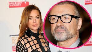 Lindsay Lohan und George Michael