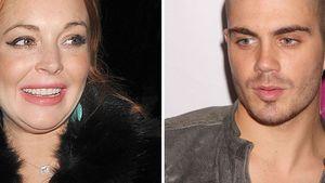 Lindsay Lohan und Max George