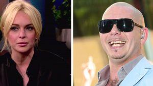 Pitbull vs. Lindsay: Er disst sie in einem Song
