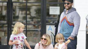 Trotz Scheidung: Lisa & Jack Osbourne als Familie unterwegs!