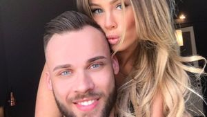 Liz Kaeber mit ihrem Freund Nick