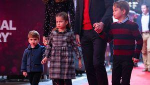 Mini-Royals? So groß sind George, Charlotte und Louis schon!