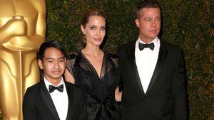 Normalo-Soccer-Mum: Angelina Jolie feuert ihre Kids an