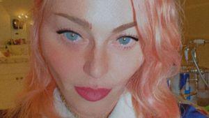 Krasse Typveränderung: Madonna zeigt sich mit pinken Haaren
