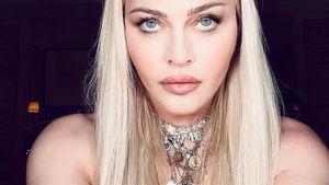 Superheiße Selfies! Madonna zeigt sich (fast) oben ohne